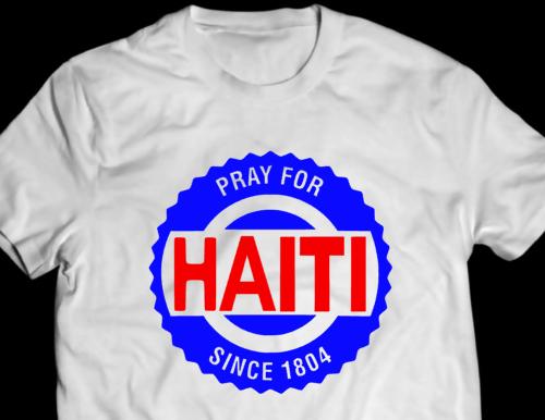 Fuck haiti t shirt